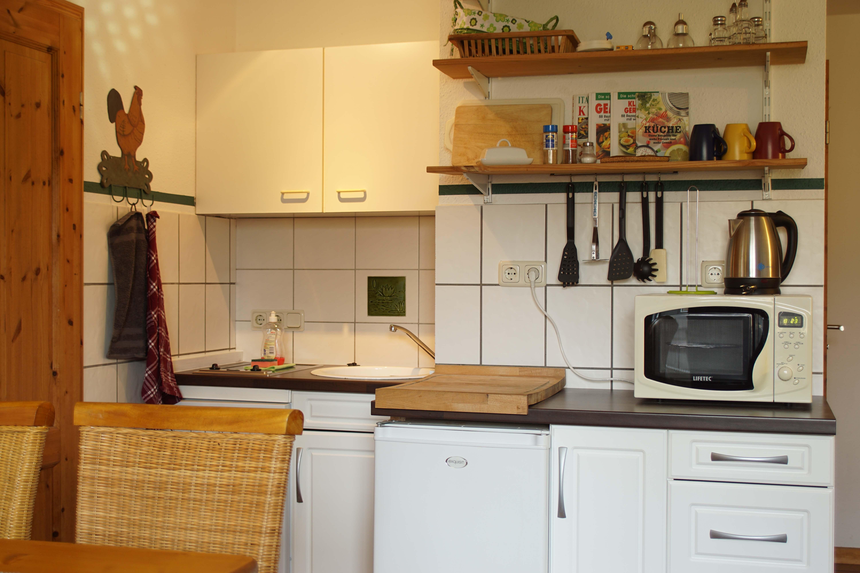 Landhaus Brenner, Alt Güstelitz - WE 3 , Küchenzeile