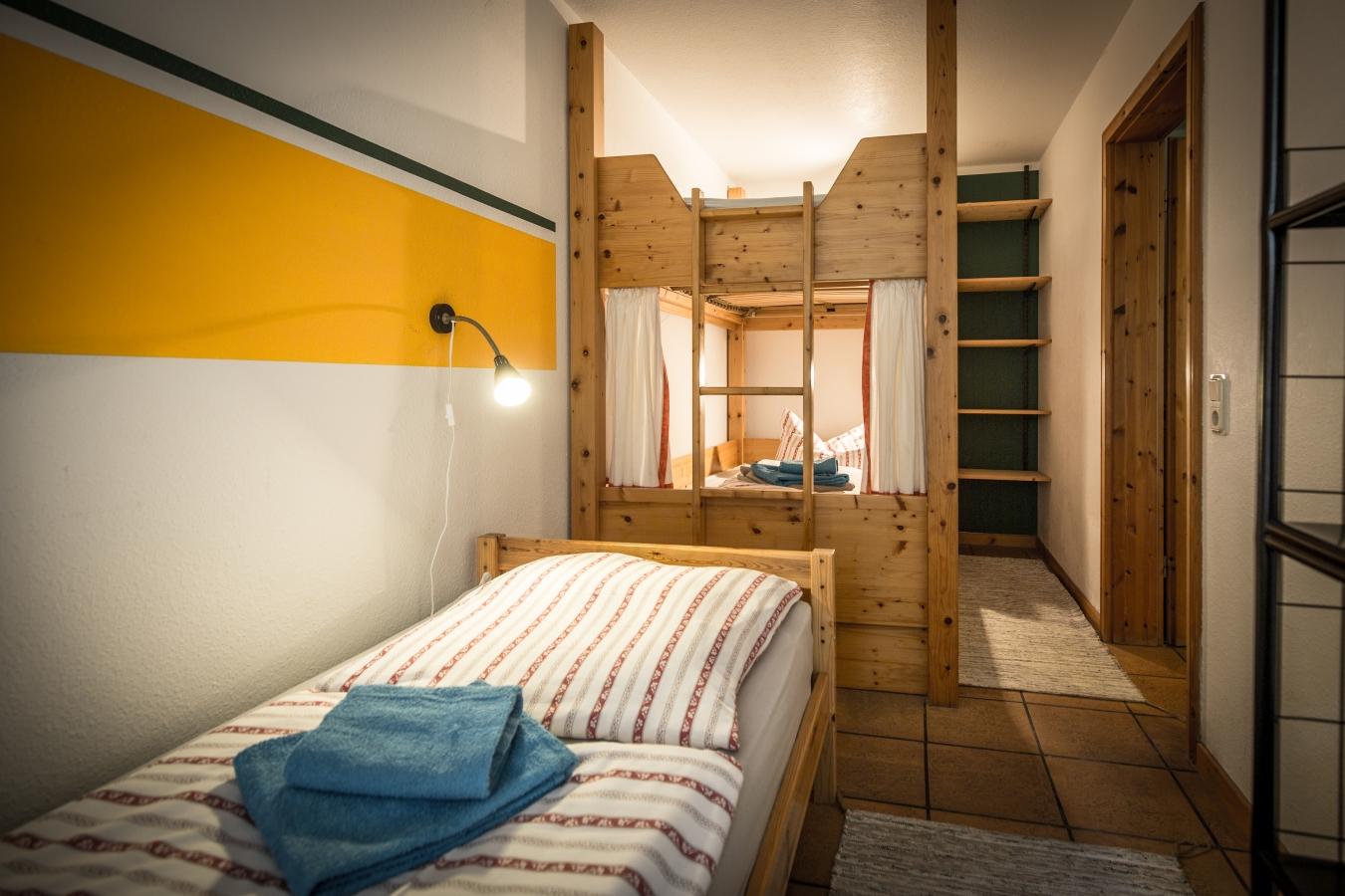 Landhaus Brenner, Alt Güstelitz -  WE 3 , Schlafraum