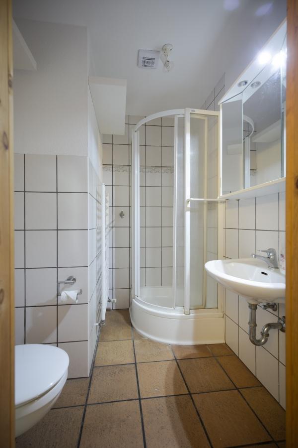Landhaus Brenner, Alt Güstelitz -  WE 3 , Dusche / WC