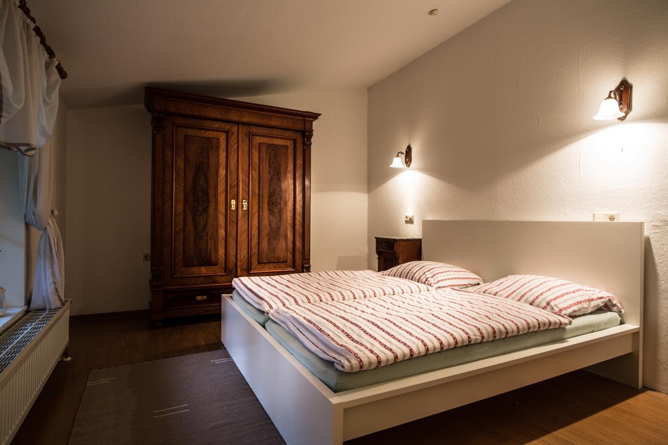 Landhaus Brenner Alt Güstelitz, WE4 Schlafzimmer