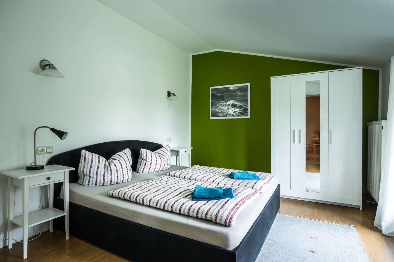 Landhaus Brenner Alt Güstelitz, WE5 Schlafzimmer