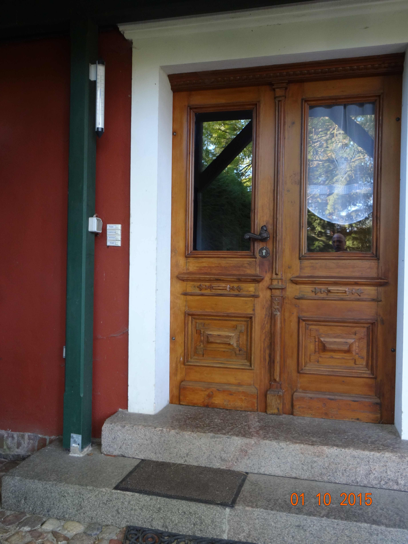 Zugang zu den Wohnungen 1- 3 und dem Gemeinschaftsbereich im EG, Landhaus Brenner Alt Güstelitz