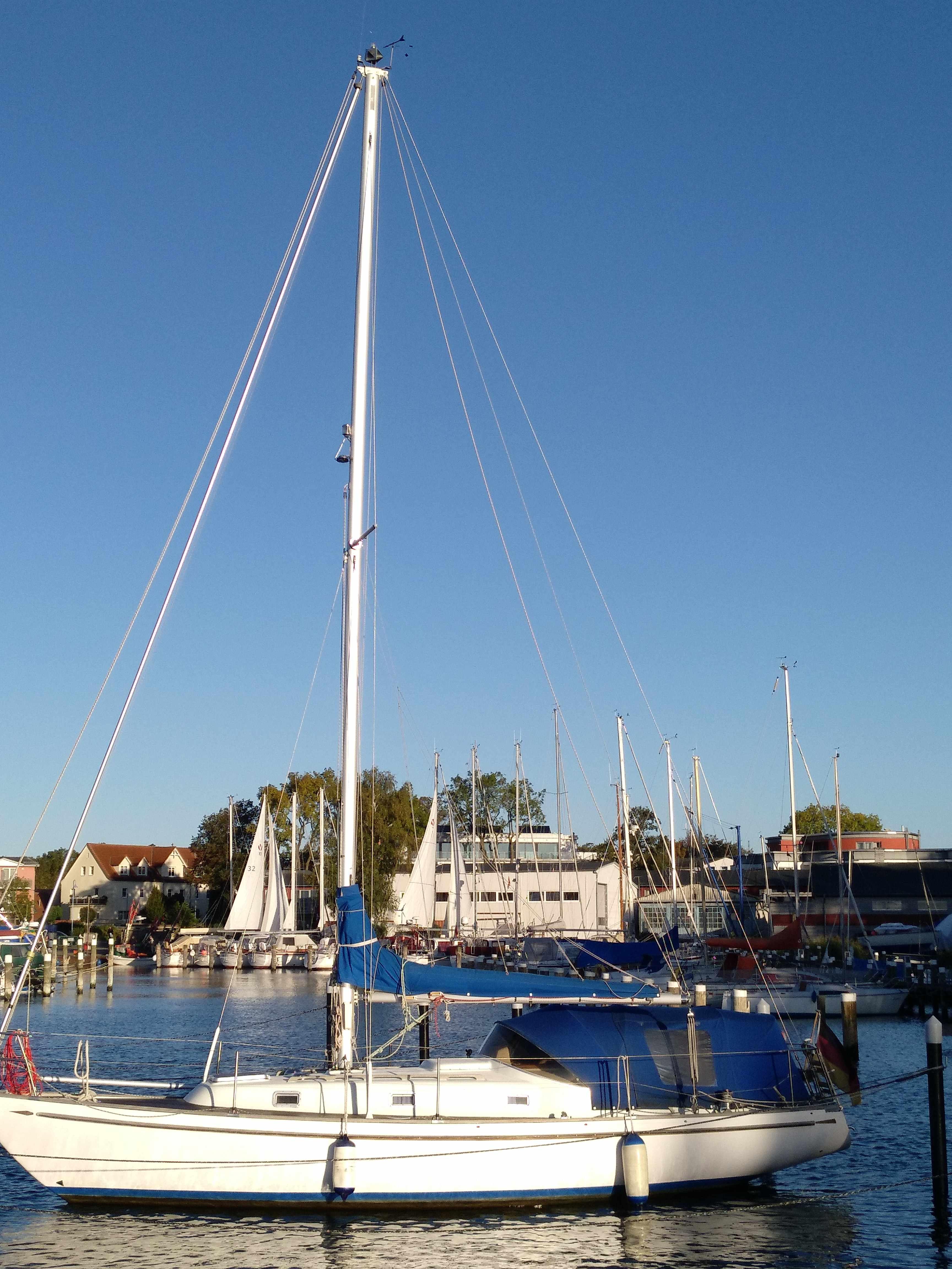 eala beag im Heimathafen von Lauterbach